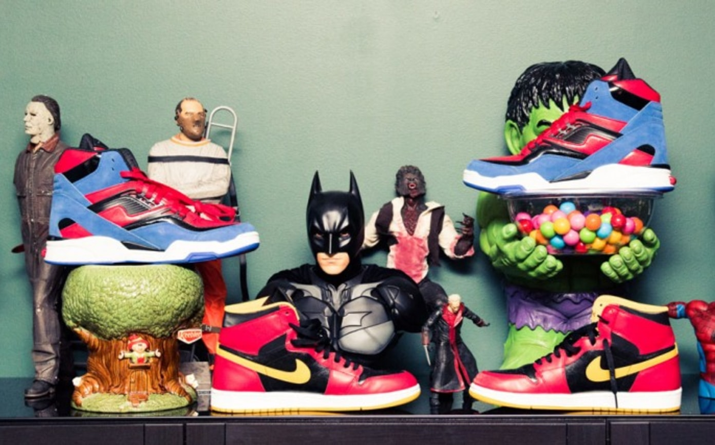 """""""The Boss"""" and his sneaker collection"""
