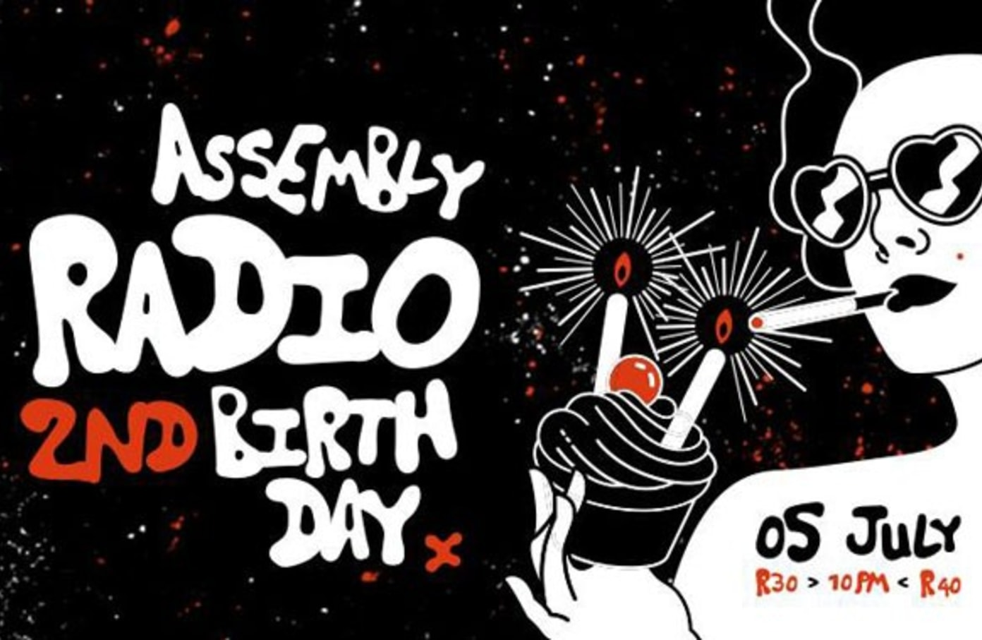 Assembly Radio Celebrates their 2nd Birthday with Niskerone, Christian Tiger School and more!