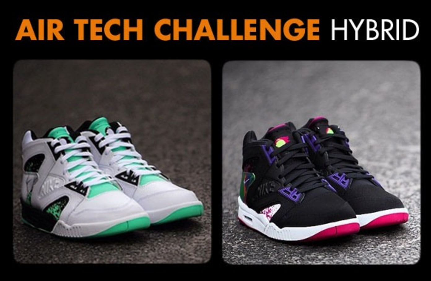 Coming Soon to Shelflife: The Nike Air Tech Challenge Hybrid