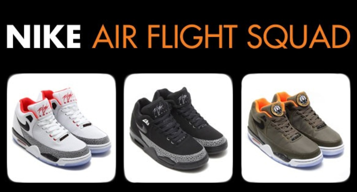 Coming Soon to Shelflife: The Nike Air Flight Squad