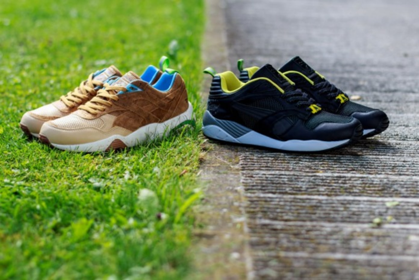 size? x PUMA R698 & XS850 Wilderness Pack Part One