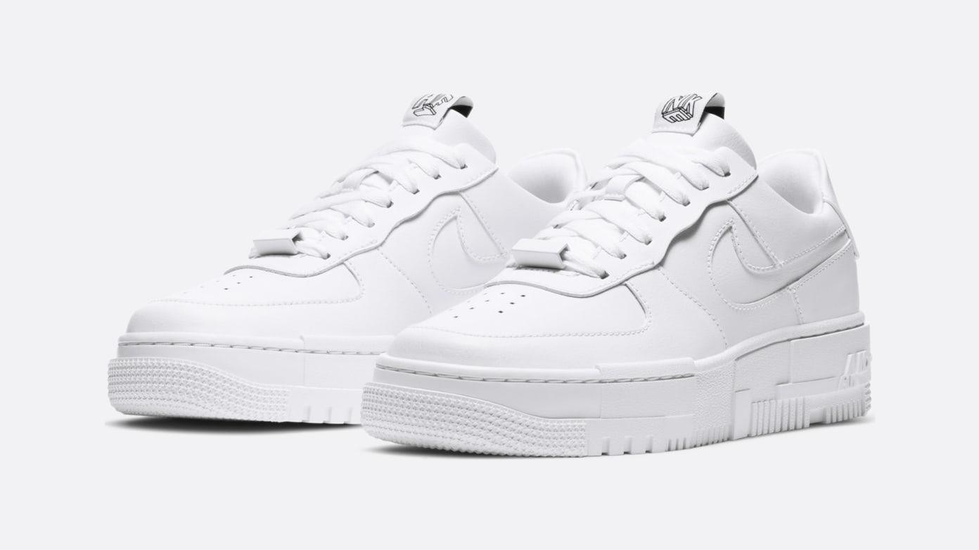 Nike Women's Air Force 1 Pixel - 'Triple White'
