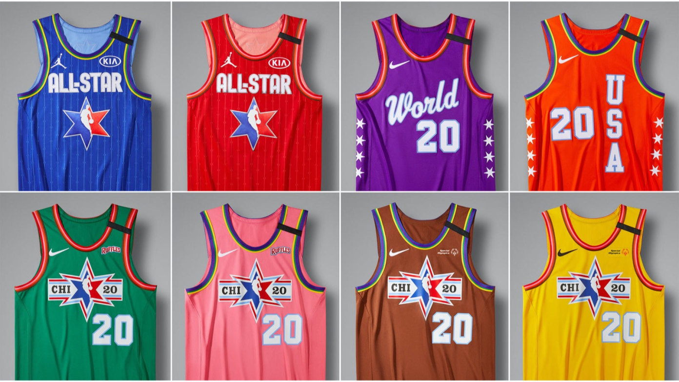 Jordan & Nike Unveil The 2020 NBA All-Star Weekend Uniforms