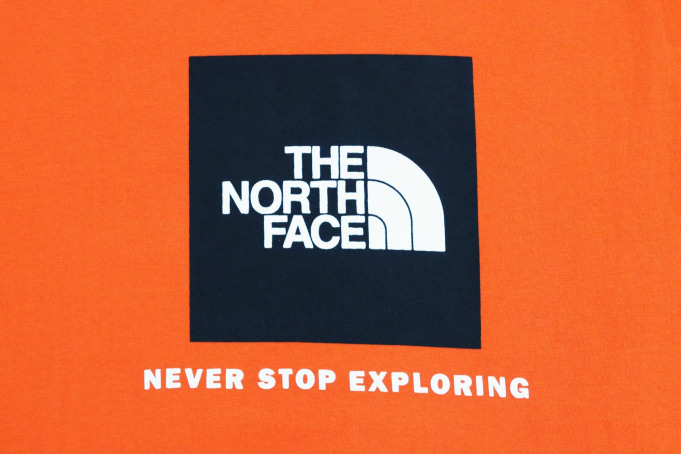 The North Face Raglan Red Box Tee - default