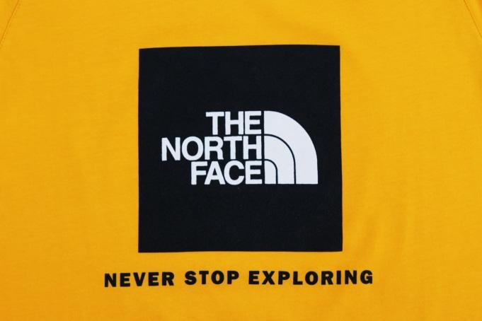 The North Face Raglan Red Box Tee - default