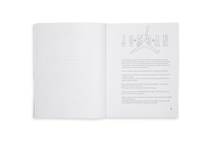 Retro Air Jordan Colouring Book - default