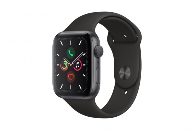 Apple Watch Series 5 44mm GPS Grey Aluminium Case with Sport Band - default