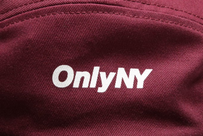 Only NY Twill Logo 5-Panel Cap - default