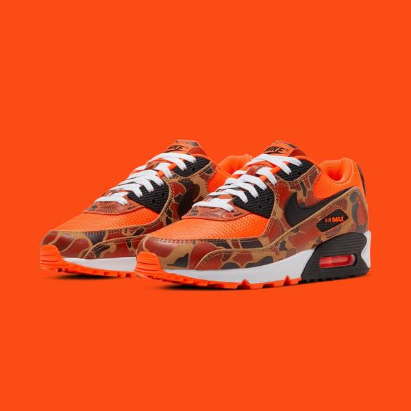 Nike Air Max 90 SP - 'Orange Duck Camo'