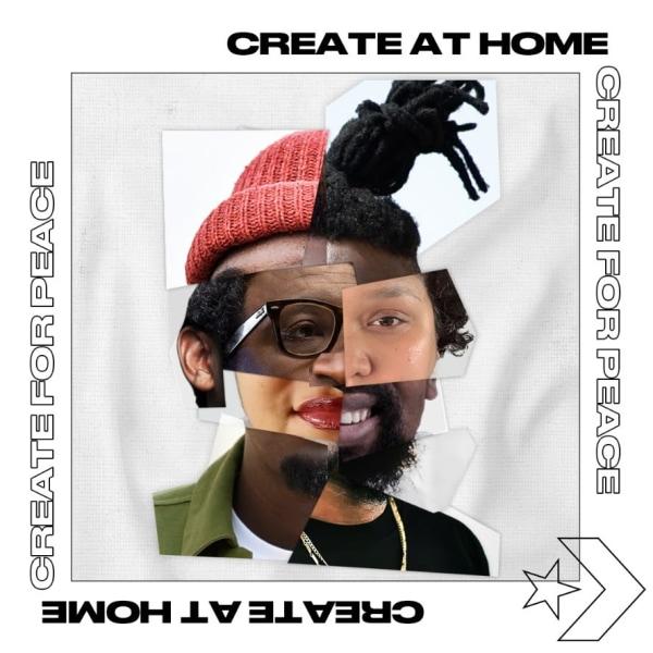 Converse #CreateAtHome Campaign with 5 Local Artists