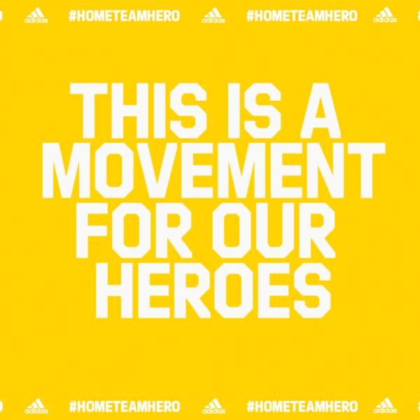 #HomeTeamHero adidas Campaign Gives Back