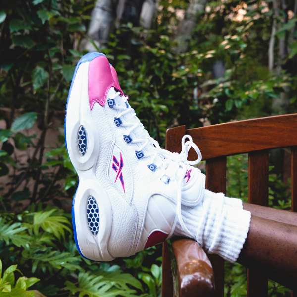 Reebok x Eric Emanuel Question Mid - 'Pink Toe'