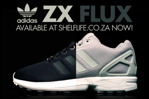 Win a pair of adidas Originals ZX FLUX with Shelflife!