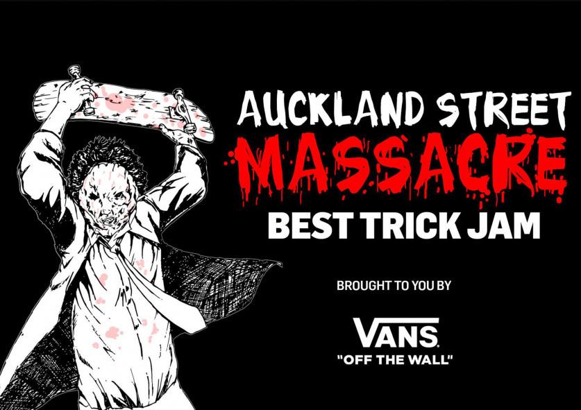 Vans Presents Auckland Street Massacre: Best Trick Jam