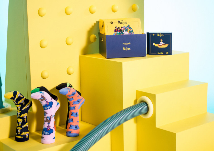 Happy Socks x The Beatles Collection