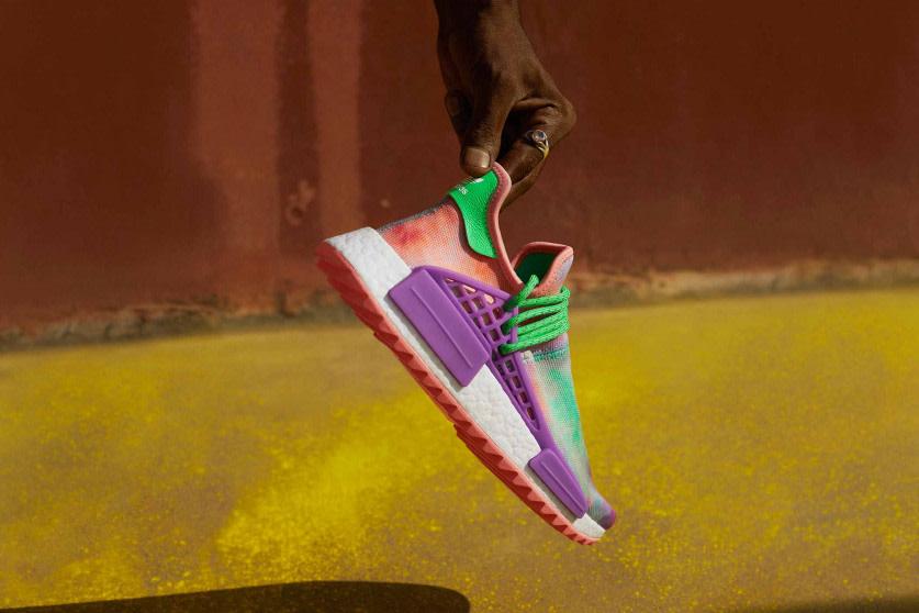 adidas Originals by Pharrell Williams — Hu Holi Powder Dye Collection