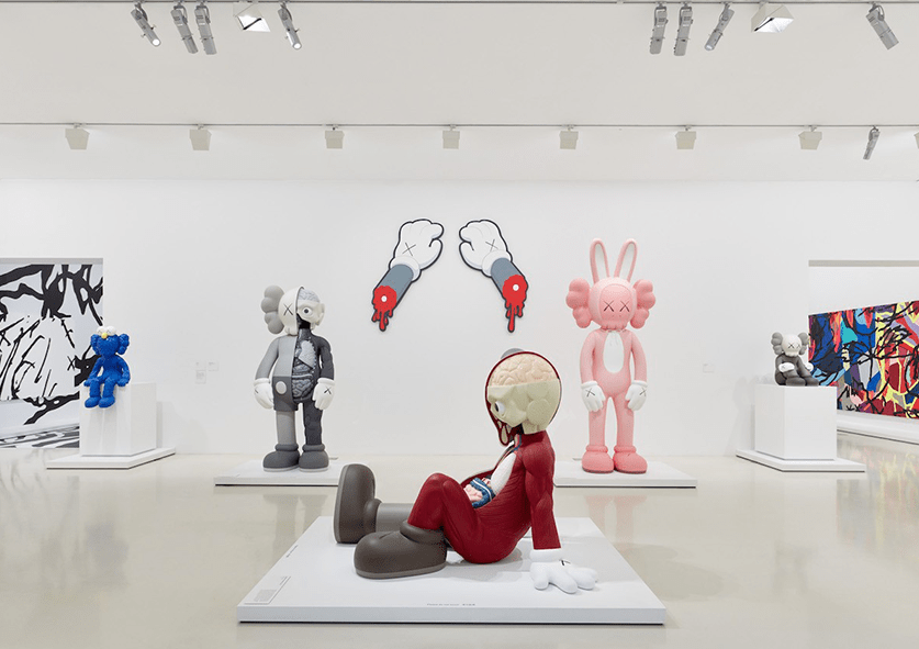 A Look Inside the Latest KAWS Exhibition