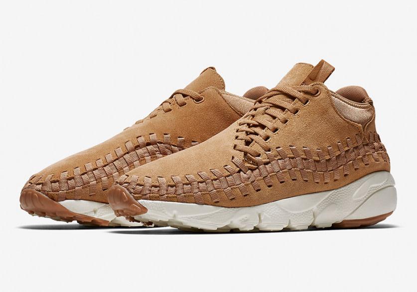 Nike Air Footscape Woven Chukka Premium Wheat/Flax