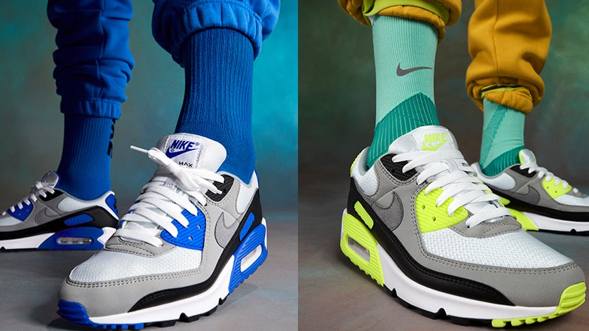 Nike Revive the Air Max 90 OG in Two Colourways