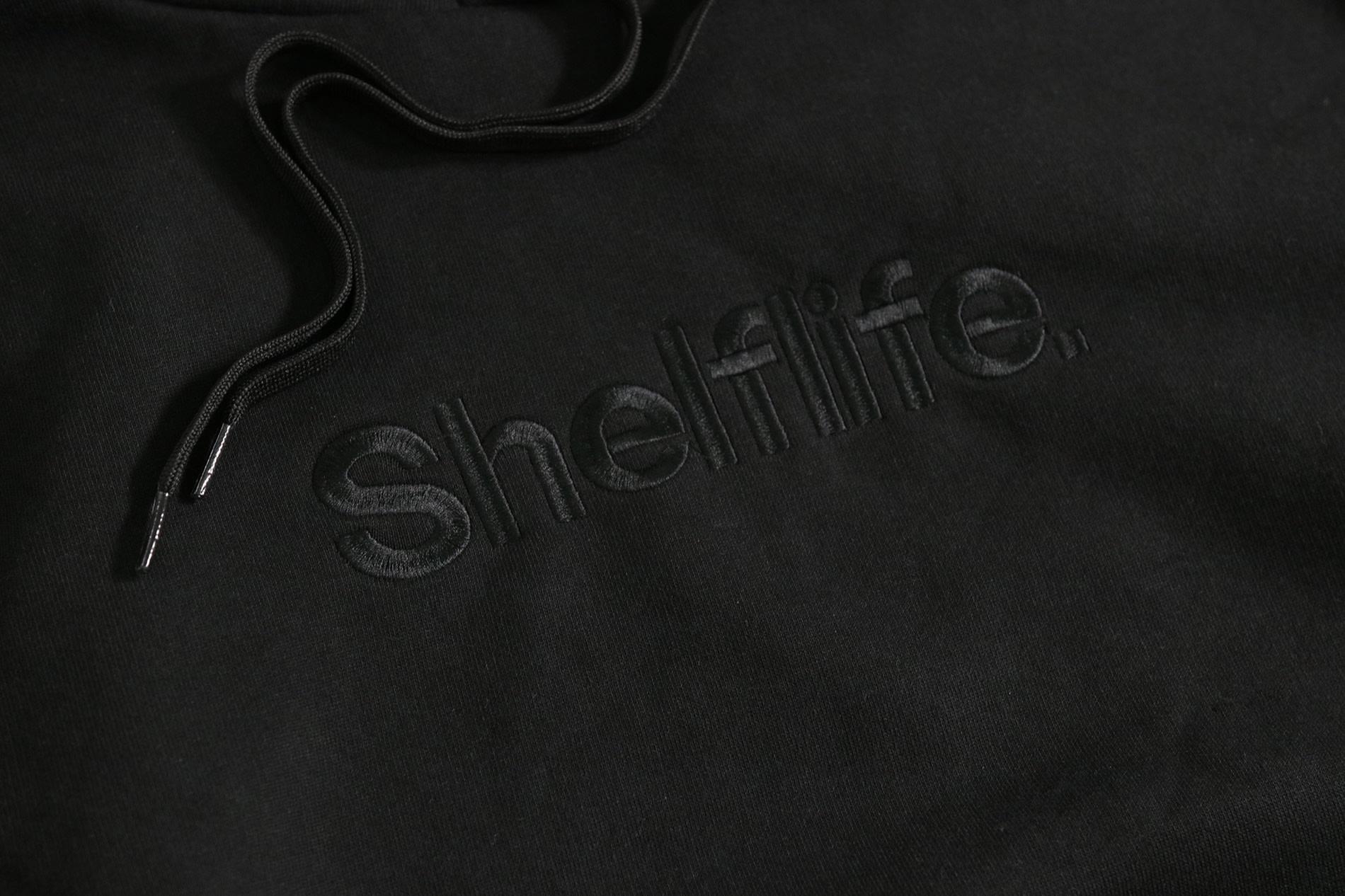 Shelflife Simple Font Hoodie - default