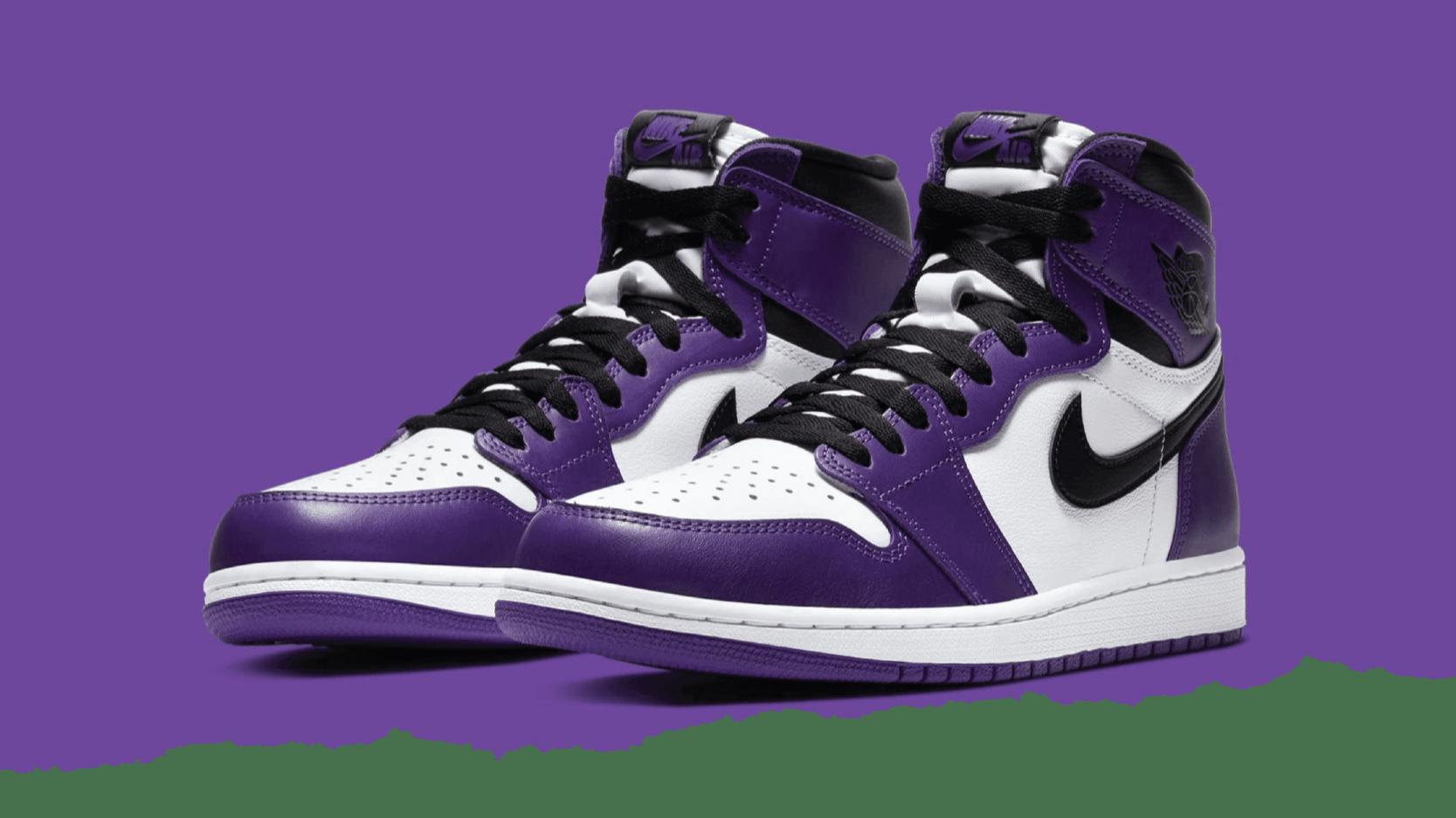 Air Jordan 1 Retro High OG - 'Court Purple'