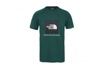The North Face Raglan Red Box Tee