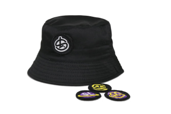 Shelflife Removable Patch Bucket Hat
