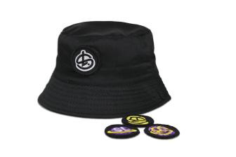 Shelflife Removable Patch Bucket Hat
