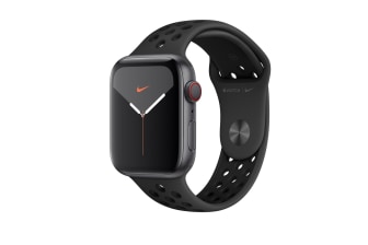 Apple Watch Series 5 44mm GPS Aluminium Case with Anthracite/Black Nike Sport Band