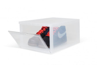 Shelflife Clear Sneaker Crates