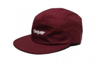 Only NY Twill Logo 5-Panel Cap