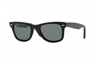 Ray-Ban Black Wayfarer Classic Polarised