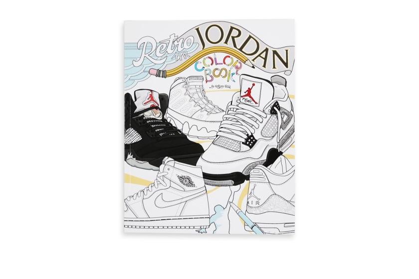 Retro Air Jordan Colouring Book