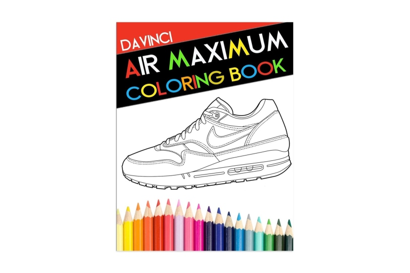 Air Maximum Colouring Book