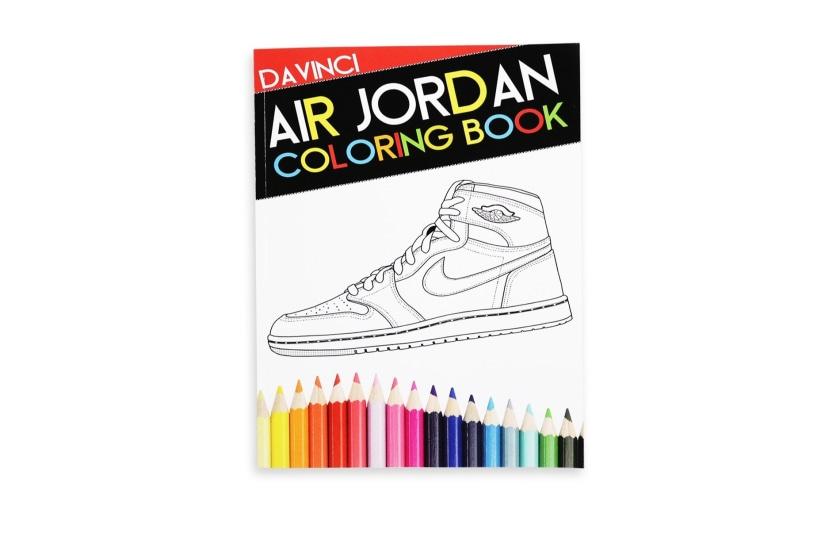 Air Jordan Colouring Book