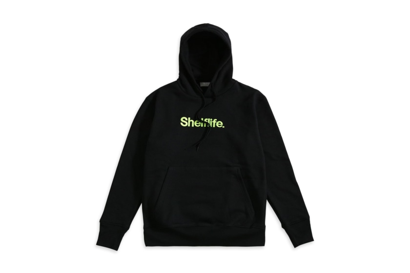 Shelflife Simple Font Hoodie