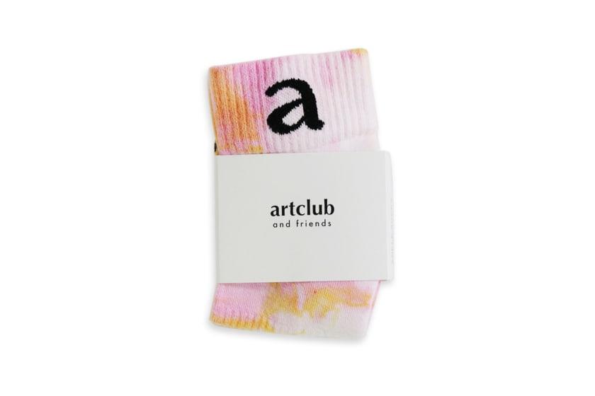 Shelflife x Artclub and Friends Tie-Dye Socks