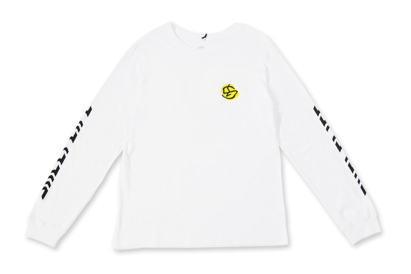 Shelflife Warpy Logo Long-Sleeve Tee