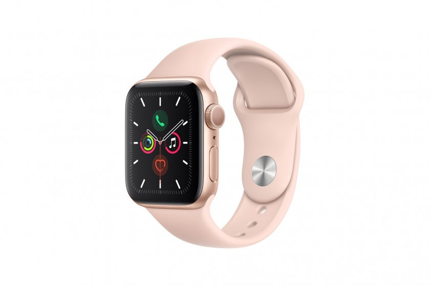 Apple Watch Series 5 40mm GPS Gold Aluminium Case with Sport Band
