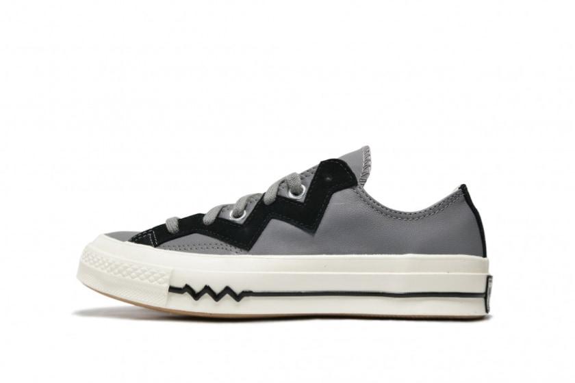 Converse WMNS Chuck 70 Low 'Leather & Chevron'