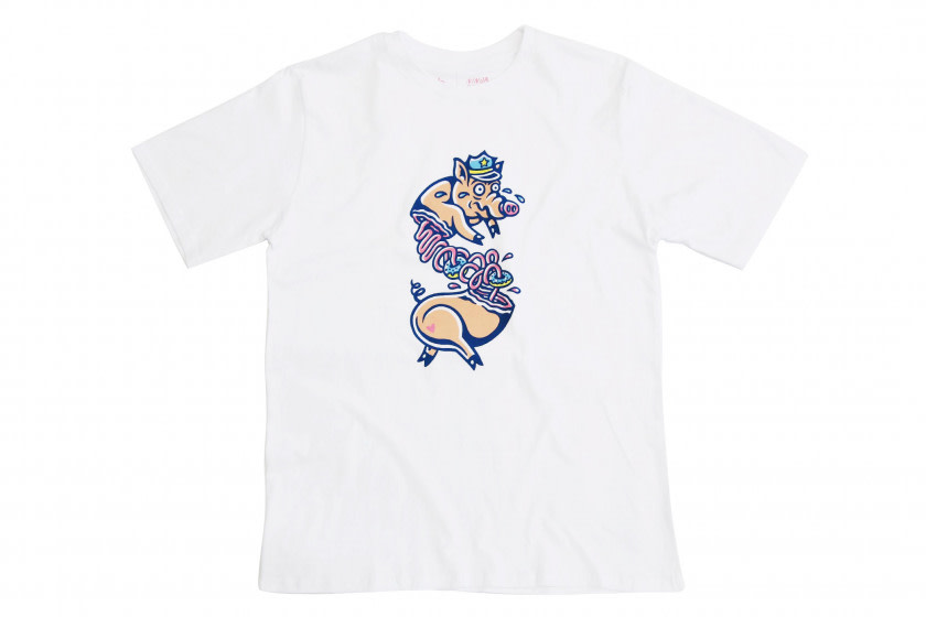 Shelflife x Ninja Bread Boy Tee