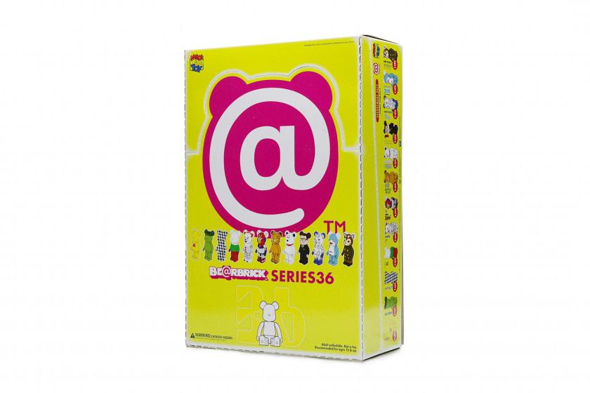 Medicom Toy Bearbrick Series 36 - 100% Single Blind Box