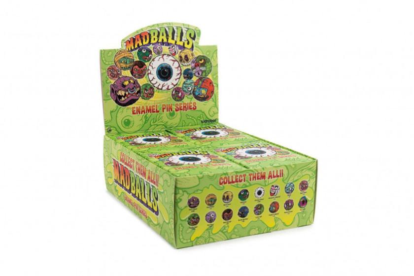 Kidrobot Madballs Enamel Pin Series (Blind Box)