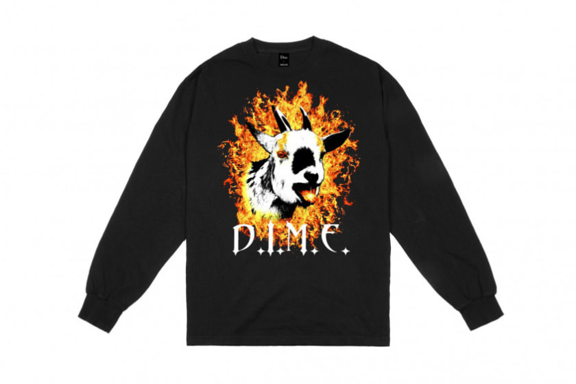 Dime Fire Goat Long-Sleeve