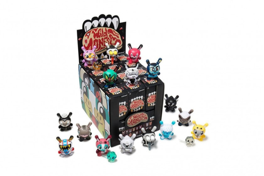Kidrobot The Wild Ones Dunny Mini Art Figure Series (Blind Box)