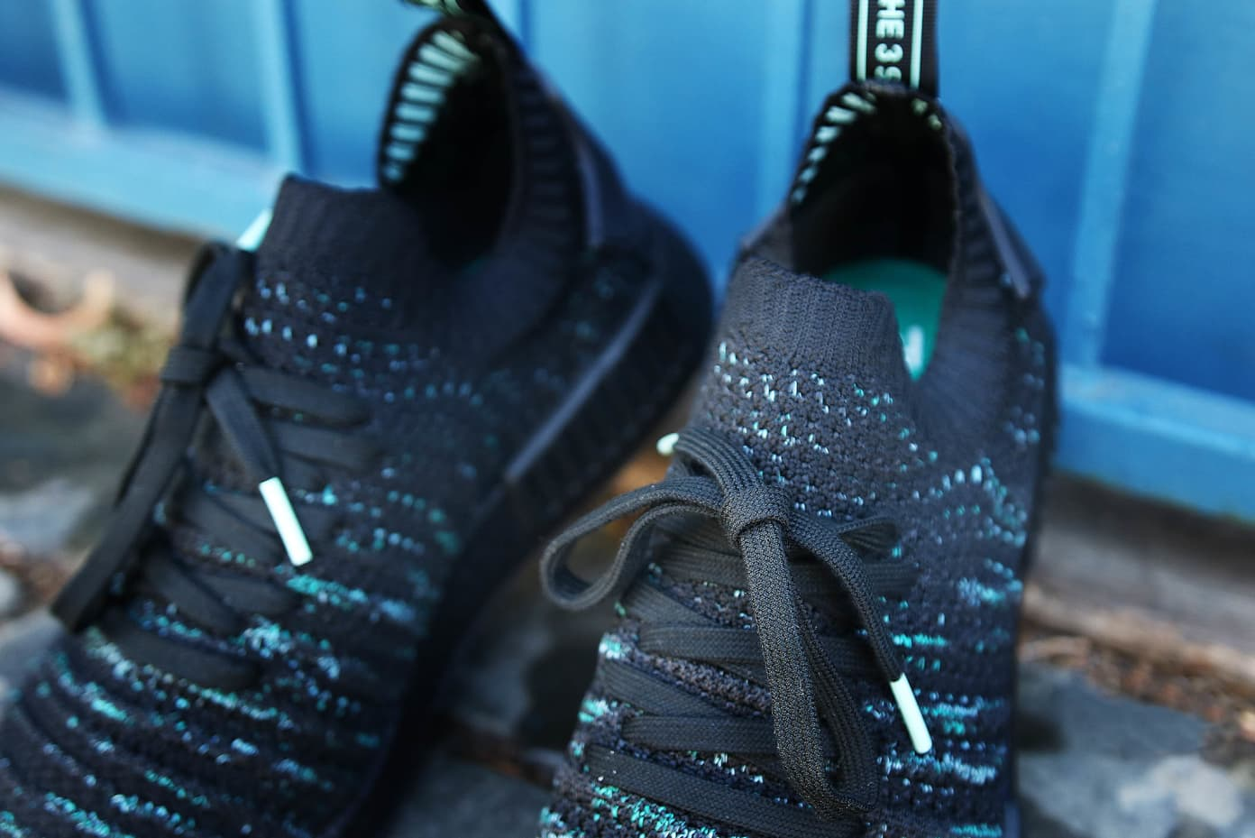 adidas Originals x Parley NMD_R1 STLT - Core Black   Shelflife