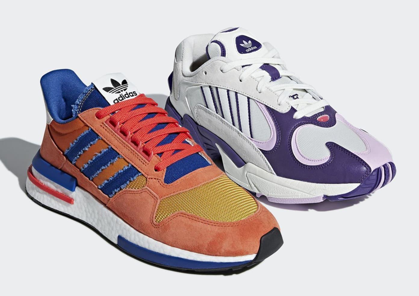 Monetario Mascotas saltar  adidas x Dragon Ball Z Yung-1 and ZX 500 RM   Shelflife
