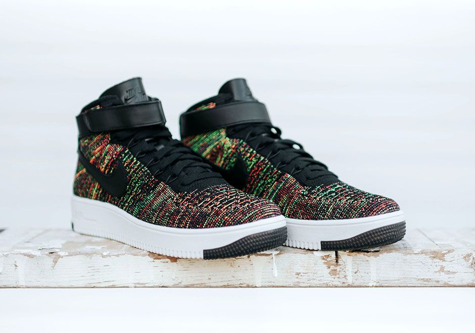 "al revés Estable Alentar  Nike Air Force 1 Mid Flyknit ""Multicolour†2.0 coming soon! 