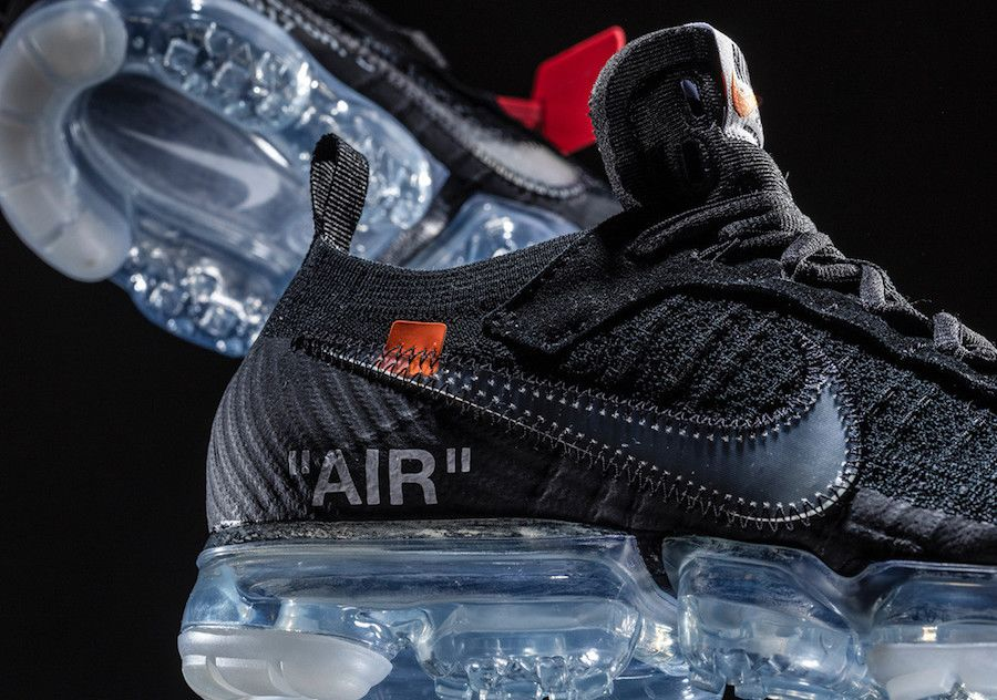 Permanece competencia entre  Off-White x Nike Air VaporMax Black | Shelflife