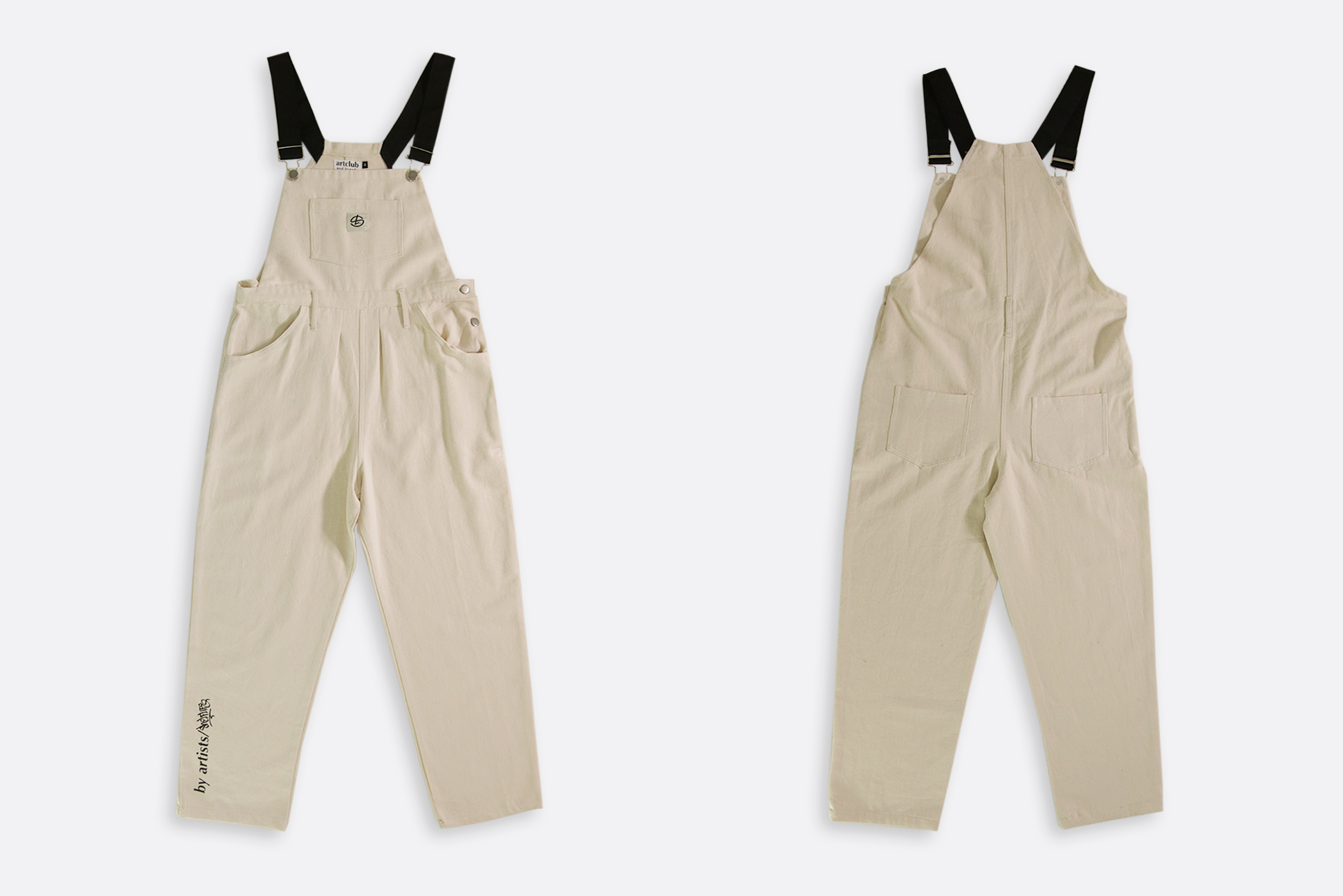 Shelflife x Artclub and Friends Dungarees